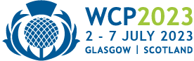 WCP 2023 – World Congress of Basic & Clinical Pharmacology Logo